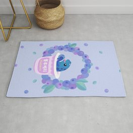 Blueberry poison yogurt 2 Rug
