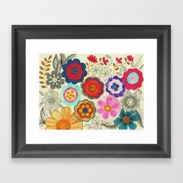 Charming Floral Framed Art Print