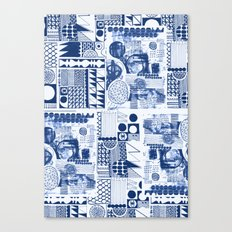 Mittela Pattern Canvas Print
