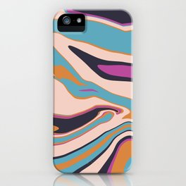 Marblized 7 iPhone Case