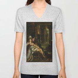 Gustave Moreau - Dalila Unisex V-Neck