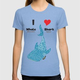 I Heart Whale SHark T-shirt