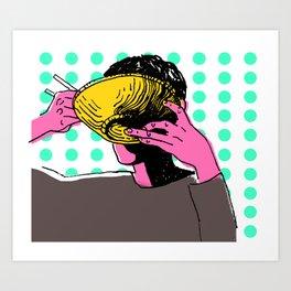 Udon Art Print