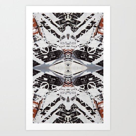 Metria 7 (Symmetria) Art Print
