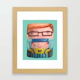 Inner child Framed Art Print