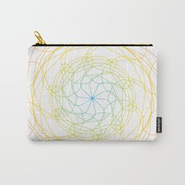 Pansexual Pride Spirograph Carry-All Pouch