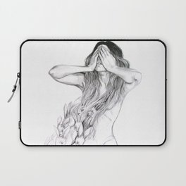 Rabbit Ghost Laptop Sleeve