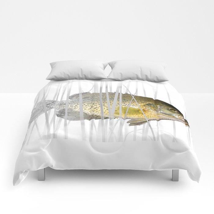 Black Crappie Fish Comforters