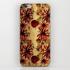 Sketchbook Floral iPhone & iPod Skin