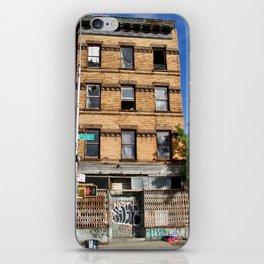 Abandoned. Bushwick. USA iPhone Skin