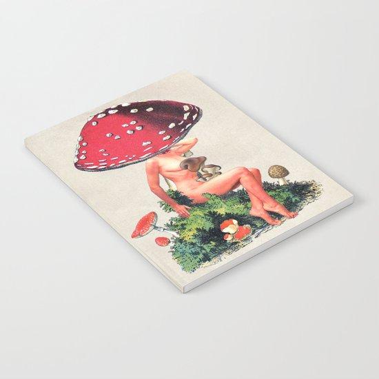 Shroom Girl Notebook