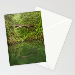 Emerald Reflections Stationery Cards