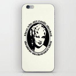 Mae West iPhone Skin