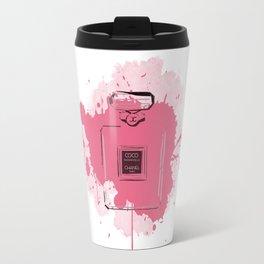 Pink Perfume Travel Mug
