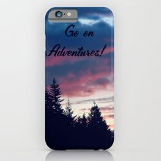 Go On Adventures! Slim Case iPhone 6s