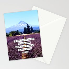 Lavender Mountain Stationery Cards