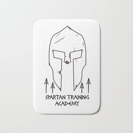 Spartan Workout Training Academy Bath Mat