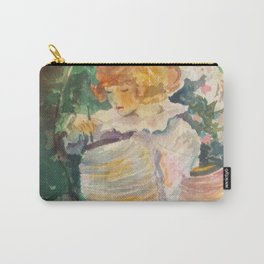 Garden Girl Carry-All Pouch