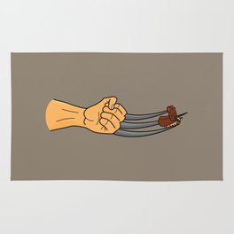 x-men finger puppet Rug