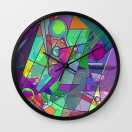 Searching for a New Angle Wall Clock