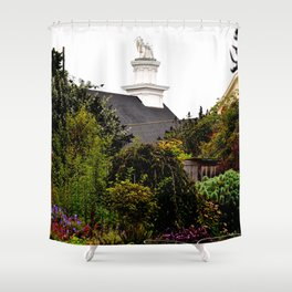 mendocino garden Shower Curtain