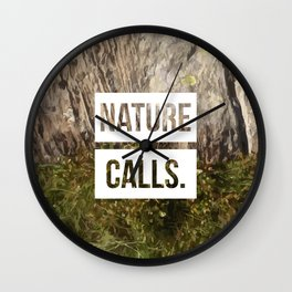 Nature Calls | 2 Wall Clock