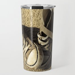 Lost shoes Travel Mug