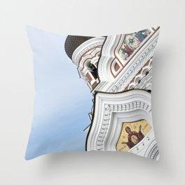Alexander Nevsky Cathedral Tallinn, Estonia Throw Pillow