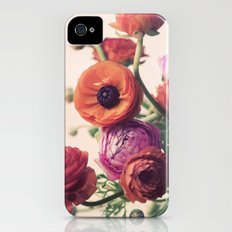Ranunculus iPhone (4, 4s) Slim Case