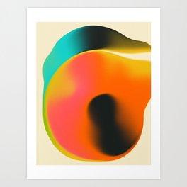 SMUDGE 1 Art Print