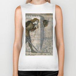 "Edward Burne-Jones ""Theseus and the Minotaur in the Labyrinth"" Biker Tank"
