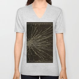 Meteor Shower Unisex V-Neck