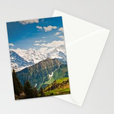 berner oberland, switzerland Stationery Cards