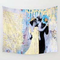 dance Wall Tapestries featuring Dance by Tati Galiano