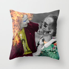 We Are Each Our Own Devil Throw Pillow