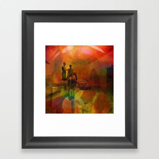 Avant-gardist construction Framed Art Print