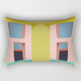 Entrance to Tranquility Rectangular Pillow