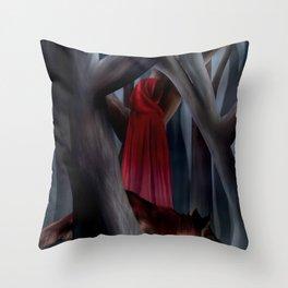 The Cloak of Rydynnton Throw Pillow