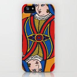 Queen of Pop iPhone Case