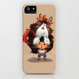 Bag Raccoon Monster iPhone Case