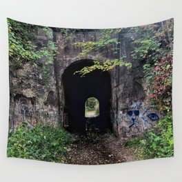 The Screaming Tunnel Wall Tapestry