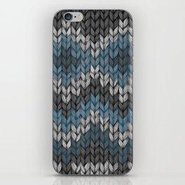 knit3 iPhone Skin