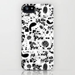 Halcyon Black iPhone Case