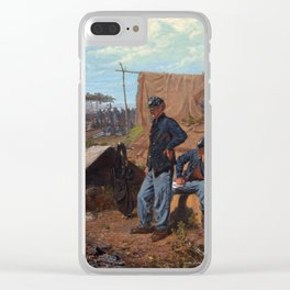 Winslow Homer Home, Sweet Home Clear iPhone Case