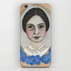 Emily Dickinson and the Geranium Blues iPhone & iPod Skin