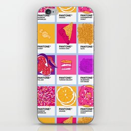 Pantone cafe iPhone Skin