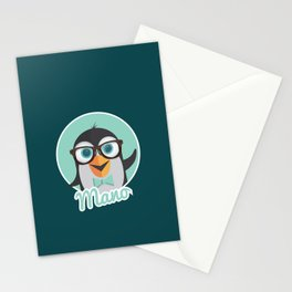 Mano the Penguin Stationery Cards