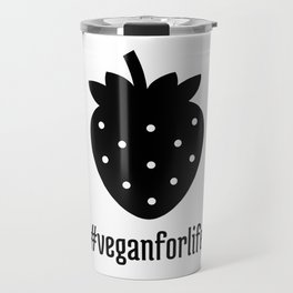 Vegan Strawberry Travel Mug