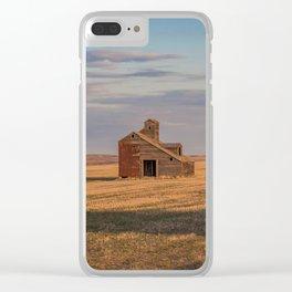 Grain Elevator 18 Clear iPhone Case