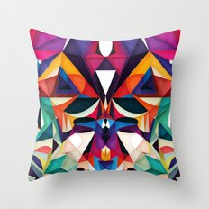 Emotion in Motion Throw Pillow